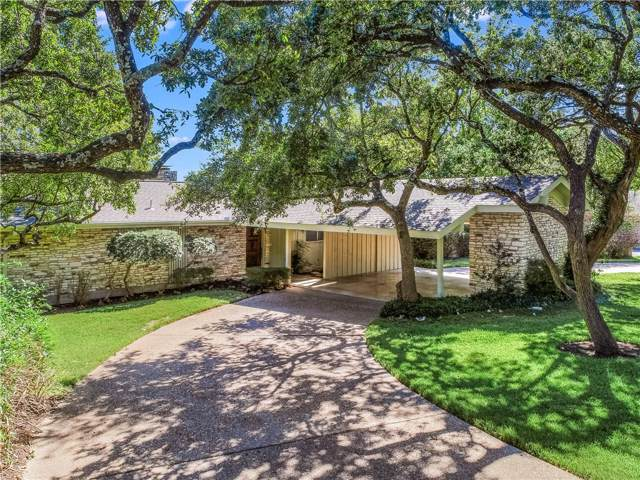 601 Buckeye Trl, West Lake Hills, TX 78746 (#1045333) :: The Perry Henderson Group at Berkshire Hathaway Texas Realty
