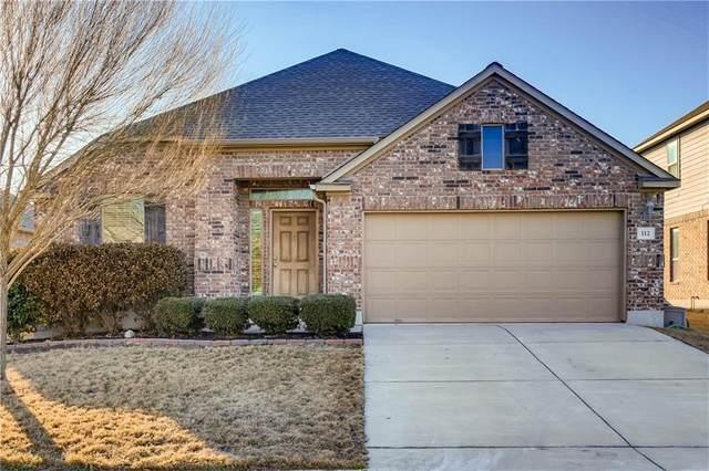 112 Wallin Farms Dr, Hutto, TX 78634 (#1073977) :: Papasan Real Estate Team @ Keller Williams Realty