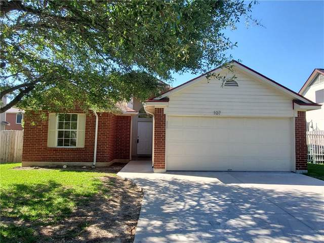 107 Hickory Tree Dr, Georgetown, TX 78626 (#1184192) :: Realty Executives - Town & Country