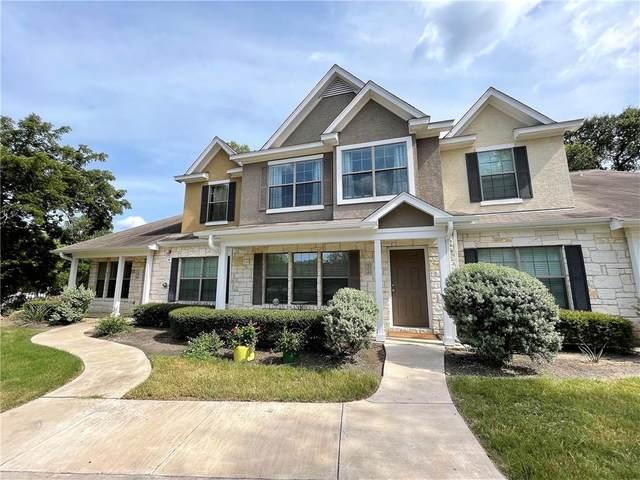 401 Buttercup Creek Blvd #102, Cedar Park, TX 78613 (#1208823) :: Papasan Real Estate Team @ Keller Williams Realty