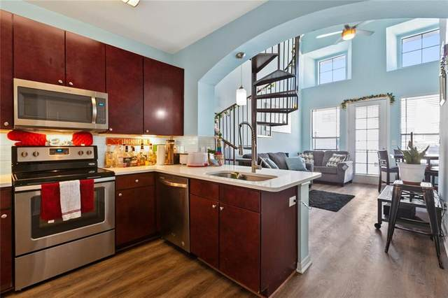 2505 San Gabriel St #609, Austin, TX 78705 (#1210348) :: The Perry Henderson Group at Berkshire Hathaway Texas Realty