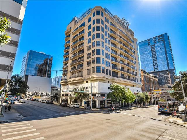 311 W 5th St #605, Austin, TX 78701 (#1246054) :: Kourtnie Bertram | RE/MAX River Cities
