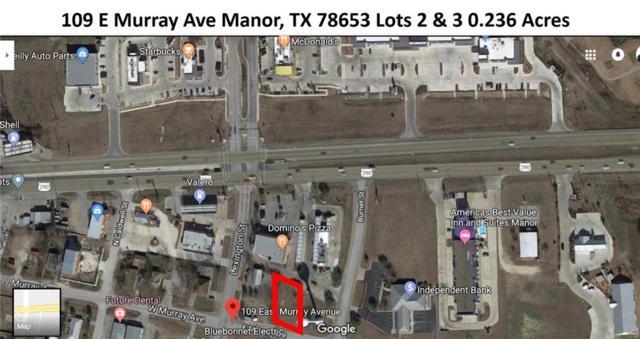 109 E Murray Ave 2 & 3, Manor, TX 78653 (#1268803) :: Papasan Real Estate Team @ Keller Williams Realty