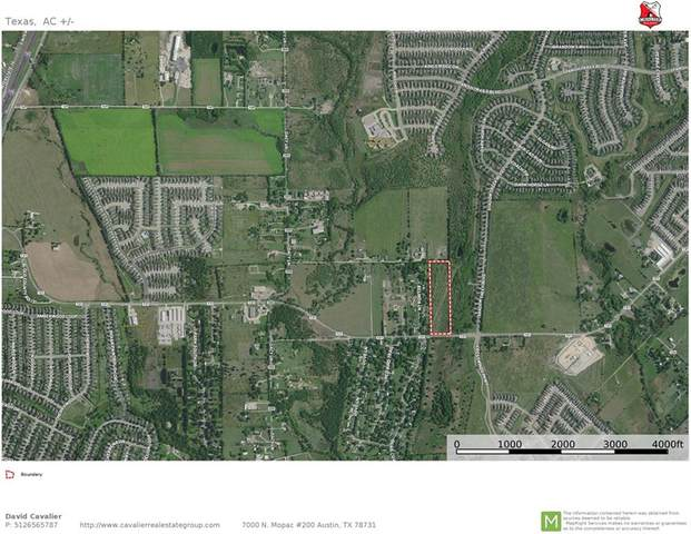 7.7 acres Windy Hill Rd, Kyle, TX 78640 (#1278027) :: Resident Realty