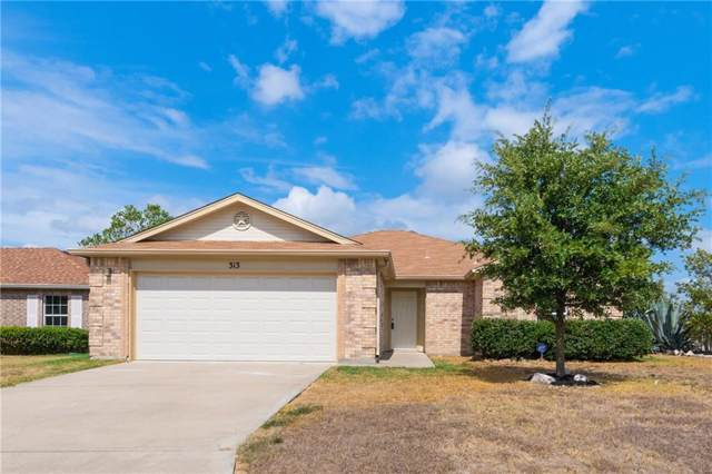313 Kyanite Ln, Jarrell, TX 76537 (#1288347) :: The Perry Henderson Group at Berkshire Hathaway Texas Realty