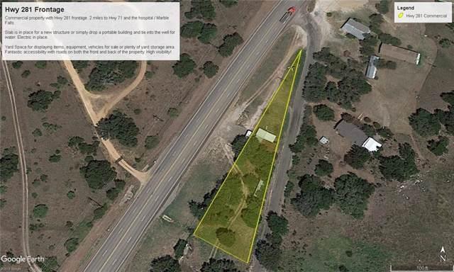 14438 Highway 281, Marble Falls, TX 78663 (#1293771) :: Lancashire Group at Keller Williams Realty