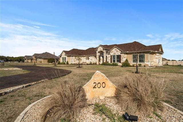 200 Crystal Ln, Georgetown, TX 78633 (#1305751) :: Realty Executives - Town & Country