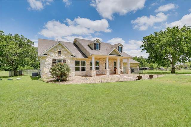 111 Lemens Ave, Hutto, TX 78634 (#1356493) :: Green City Realty