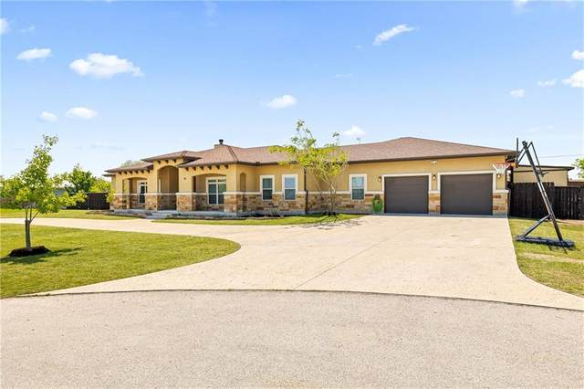 105 Haven Cv, Hutto, TX 78634 (#1371422) :: Front Real Estate Co.