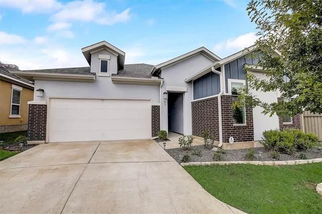 13701 Ronald W Reagan Blvd #47, Cedar Park, TX 78613 (#1380033) :: Ben Kinney Real Estate Team