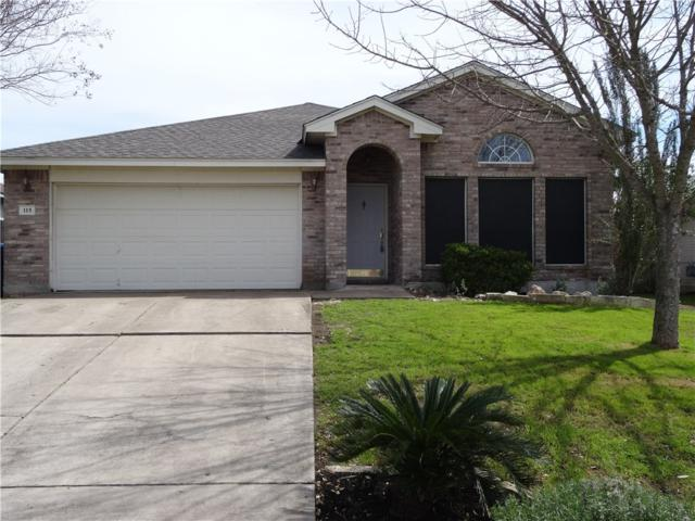 115 Cavalry Trl, Elgin, TX 78621 (#1412433) :: Zina & Co. Real Estate