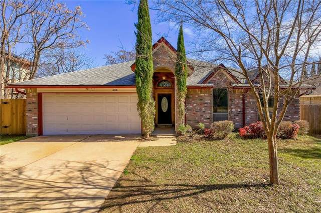 606 Eaglecreek Dr, Leander, TX 78641 (#1432151) :: Realty Executives - Town & Country