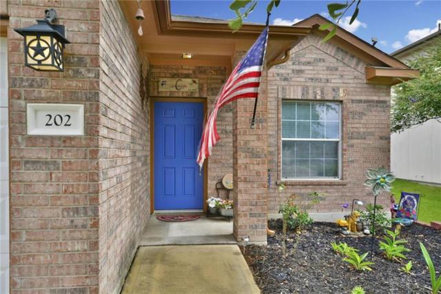 202 Flinn St, Hutto, TX 78634 (#1469887) :: Forte Properties