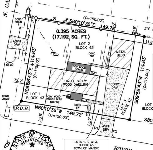 107 W Boyce, Manor, TX 78653 (#1507239) :: Ben Kinney Real Estate Team