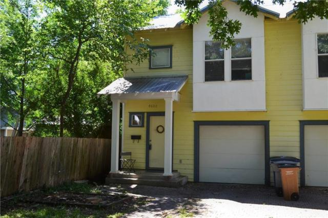 4602 Avenue B A, Austin, TX 78751 (#1516343) :: The Perry Henderson Group at Berkshire Hathaway Texas Realty