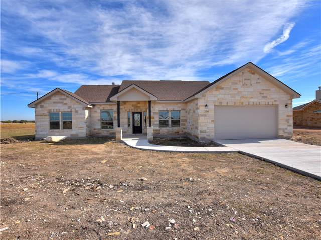 354 Meadow Valley Loop, Jarrell, TX 76537 (#1533854) :: The Perry Henderson Group at Berkshire Hathaway Texas Realty