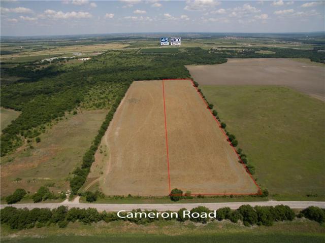 15 Acres Cameron Rd, Austin, TX 78723 (#1598987) :: The ZinaSells Group