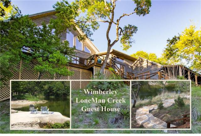601 Deer Lake Rd, Wimberley, TX 78676 (#1616443) :: The Heyl Group at Keller Williams