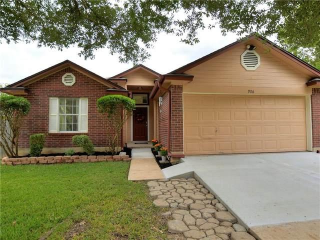 906 Iris Dr, Georgetown, TX 78626 (#1648936) :: First Texas Brokerage Company