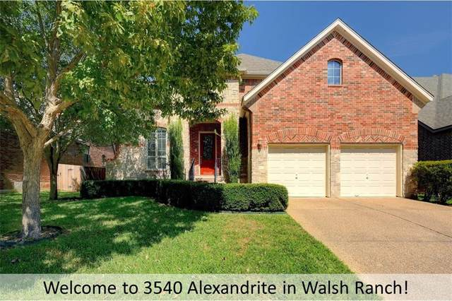 3540 Alexandrite Way, Round Rock, TX 78681 (#1709588) :: Green City Realty