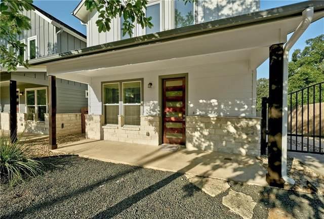 1206 Deloney St B, Austin, TX 78721 (#1803237) :: Ben Kinney Real Estate Team