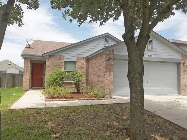 608 Big Sur Trl, Taylor, TX 76574 (#1835154) :: The Heyl Group at Keller Williams