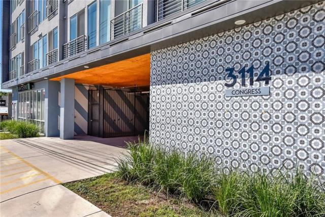 3114 S Congress Ave #303, Austin, TX 78704 (#1911831) :: Watters International