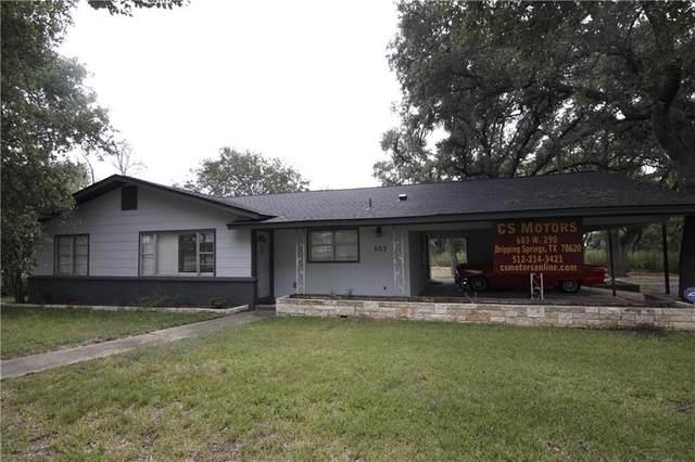 603 W Highway 290 Highway, Dripping Springs, TX 78620 (#1981582) :: Bristol Palin Team