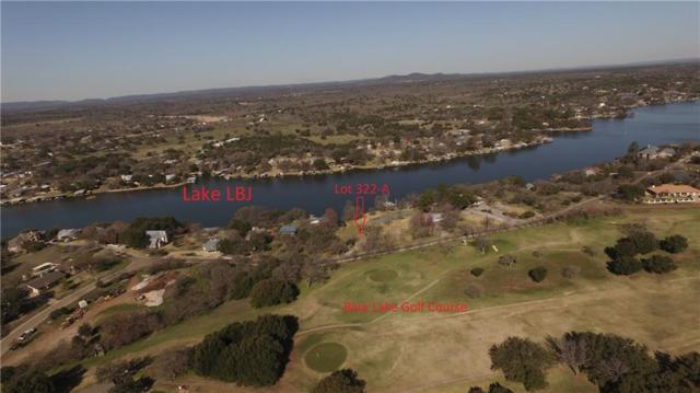 Lot 322-A Pack Saddle Dr, Horseshoe Bay, TX 78657 (#2012127) :: The Perry Henderson Group at Berkshire Hathaway Texas Realty