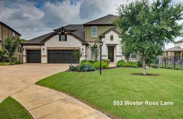503 Wester Ross Ln, Lakeway, TX 78738 (#2050127) :: Watters International