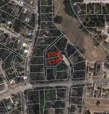 2706 Democracy Cv, Lago Vista, TX 78645 (#2081159) :: RE/MAX Capital City