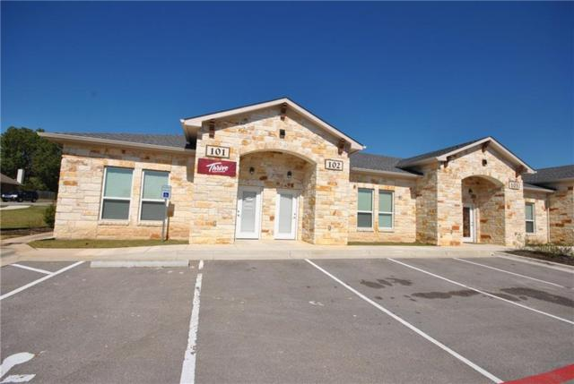 1009 W Pecan St #107, Pflugerville, TX 78660 (#2091334) :: The Perry Henderson Group at Berkshire Hathaway Texas Realty