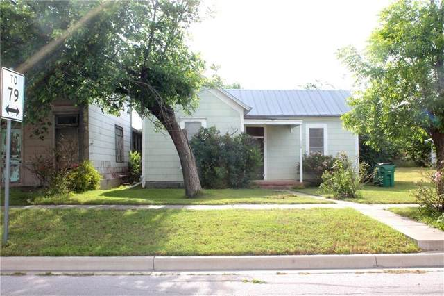 306 Washburn St, Taylor, TX 76574 (#2111107) :: Watters International
