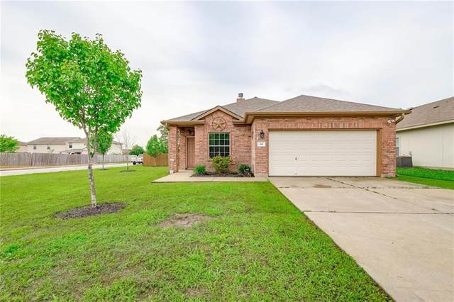 201 Flinn St, Hutto, TX 78634 (#2114087) :: The Gregory Group