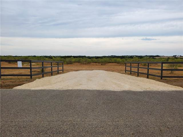 2721 County Road 219 Lot 9, Florence, TX 76527 (#2133689) :: The Perry Henderson Group at Berkshire Hathaway Texas Realty