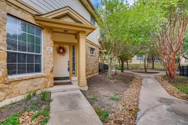 16100 SW Great Oaks Dr #2402, Round Rock, TX 78681 (#2138415) :: Tai Earthman | Keller Williams Realty