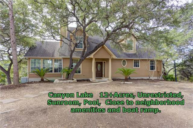 1840 Skyline Dr, Canyon Lake, TX 78133 (#2158785) :: The Perry Henderson Group at Berkshire Hathaway Texas Realty