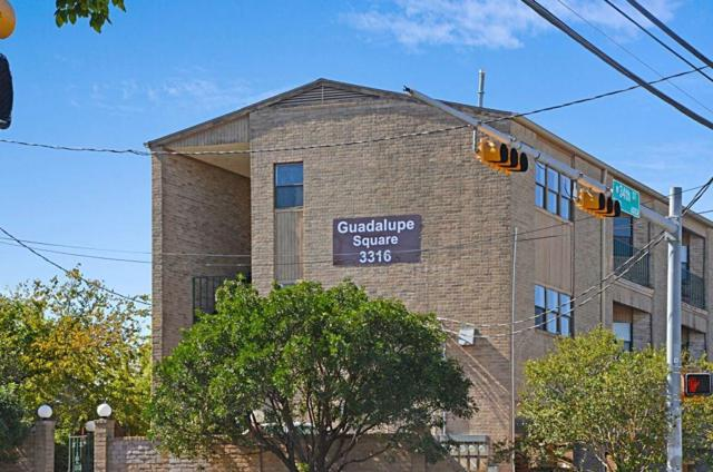 3316 Guadalupe St #302, Austin, TX 78705 (#2267285) :: Papasan Real Estate Team @ Keller Williams Realty