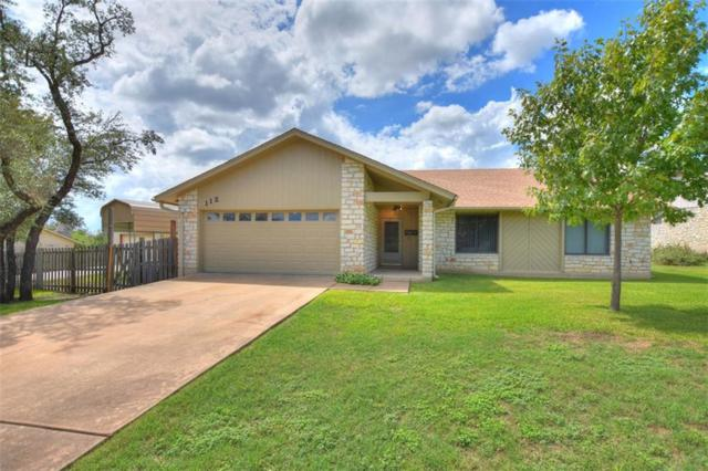 112 Turtle Bnd, Georgetown, TX 78628 (#2268382) :: Papasan Real Estate Team @ Keller Williams Realty