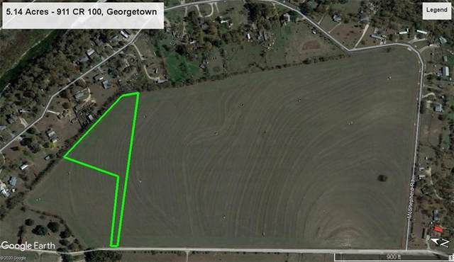 911 County Road 100 Lot 2, Georgetown, TX 78626 (#2311470) :: The Perry Henderson Group at Berkshire Hathaway Texas Realty