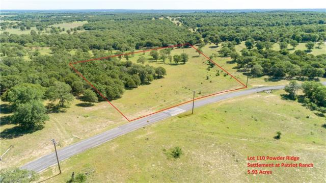 0 (lot 110) Powder Rdg, Luling, TX 78648 (#2358108) :: The Heyl Group at Keller Williams