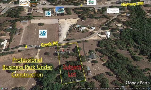 205 Creek Rd, Dripping Springs, TX 78620 (#2359476) :: The Perry Henderson Group at Berkshire Hathaway Texas Realty