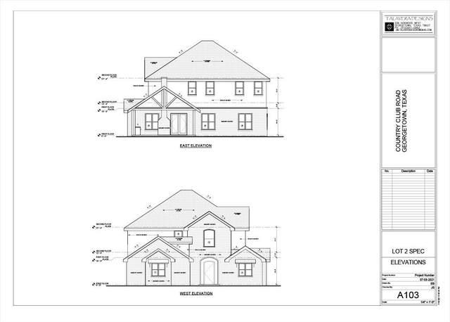 1406 Country Club Rd, Georgetown, TX 78628 (#2451938) :: Papasan Real Estate Team @ Keller Williams Realty