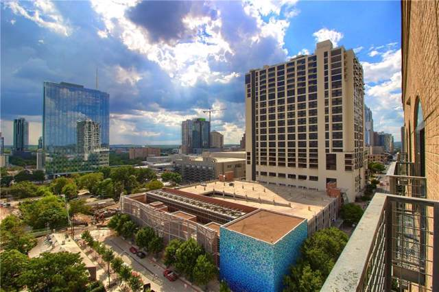 507 Sabine St #1007, Austin, TX 78701 (#2480199) :: The Gregory Group