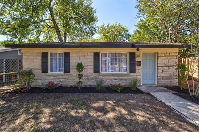 507 Hammack Dr, Austin, TX 78752 (#2483442) :: Zina & Co. Real Estate