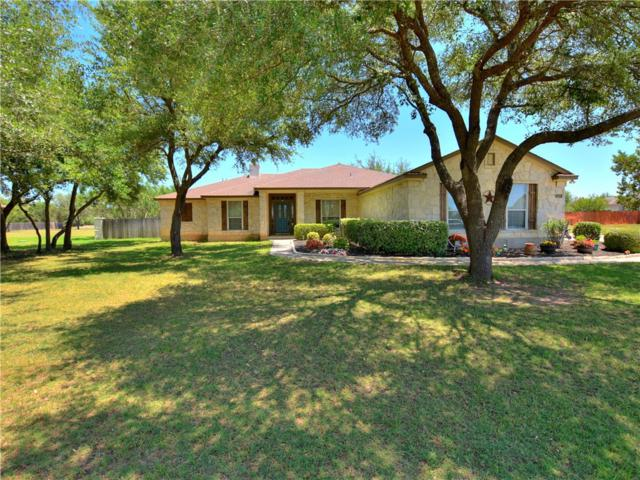 116 Polo Pony, Liberty Hill, TX 78642 (#2524983) :: The Gregory Group