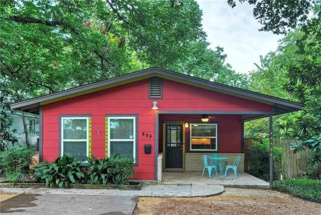 805 E 32 1/2 St, Austin, TX 78705 (#2565239) :: The Heyl Group at Keller Williams
