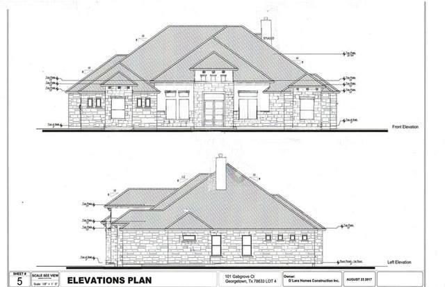 101 Gabgrove Ct, Georgetown, TX 78633 (#2589681) :: Papasan Real Estate Team @ Keller Williams Realty