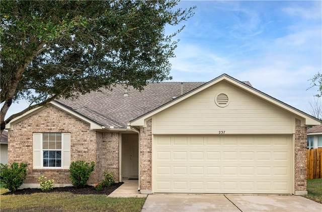 237 Dana Dr, Hutto, TX 78634 (#2595398) :: Papasan Real Estate Team @ Keller Williams Realty