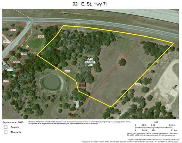 921 E State Highway 71, La Grange, TX 78945 (#2653827) :: The Heyl Group at Keller Williams